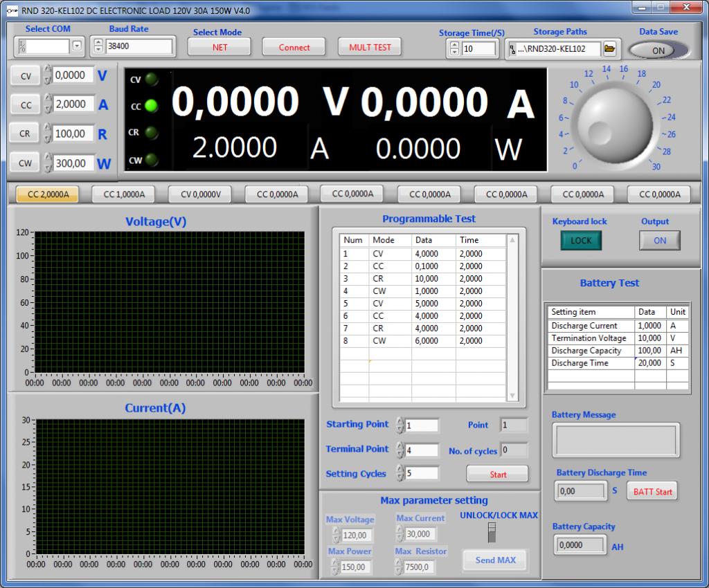 Startbildschirm RND 320-KEL102