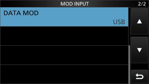 Audioquelle im Datenmodus