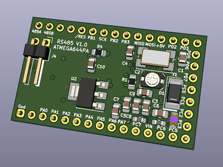 ATMEGA644PA-Board