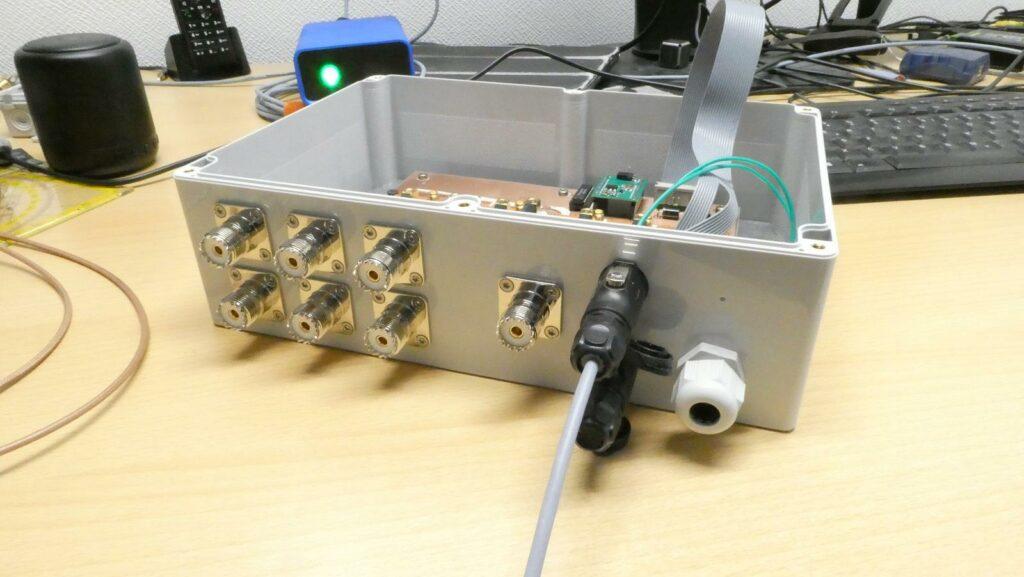 Antennenumschalter im Gehäuse 3